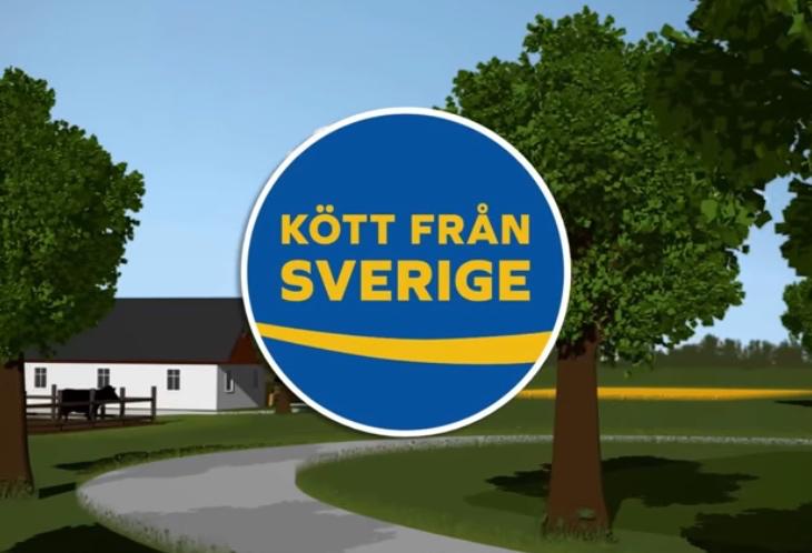 Se filmen om märket Kött från Sverige