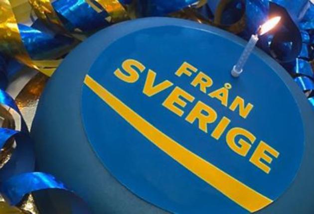 Idag fyller märket Från Sverige 1 år!
