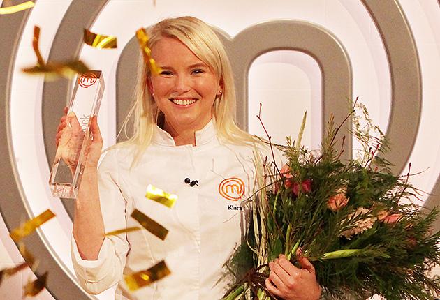 Grattis Klara! Du vann Sveriges mästerkock 2017!