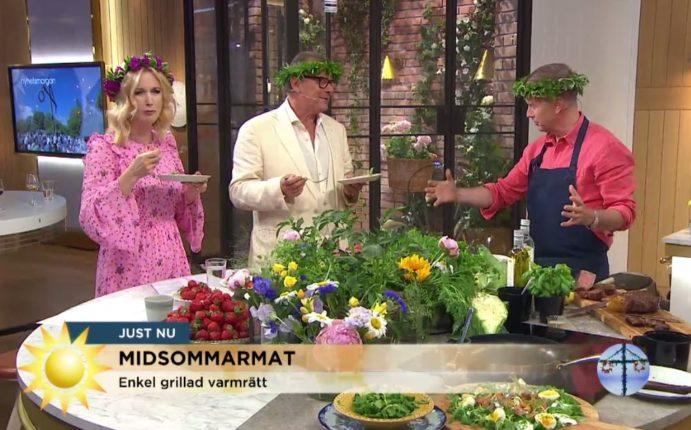 Sommarfestlig mat med Fredrik Eriksson på TV4