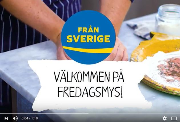 Fredagsmys med Från Sverige – film