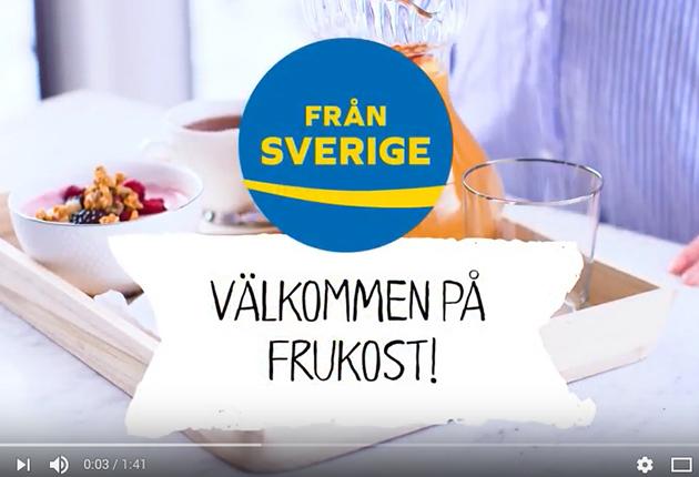 Frukostdags med Från Sverige – film