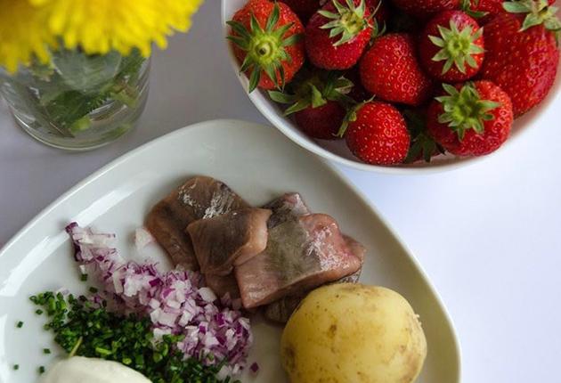 Till midsommar vill vi äta svenskt