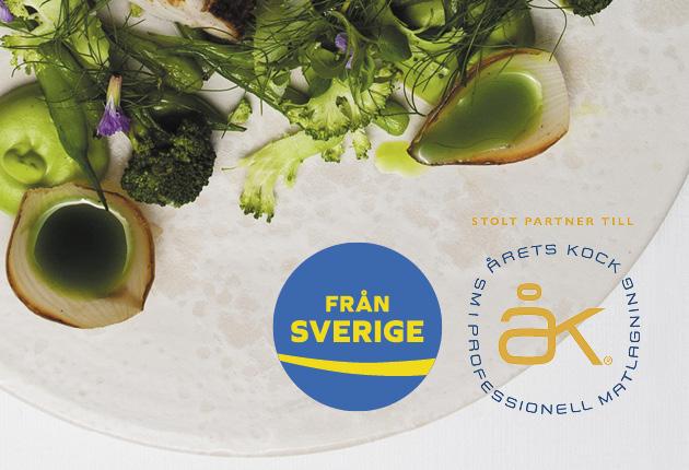 Från Sverige stolt partner till Årets Kock 2018!