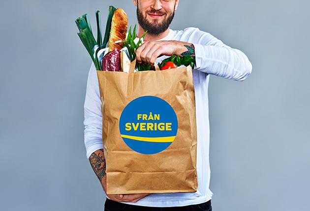 Allt fler köper svensk mat i affären