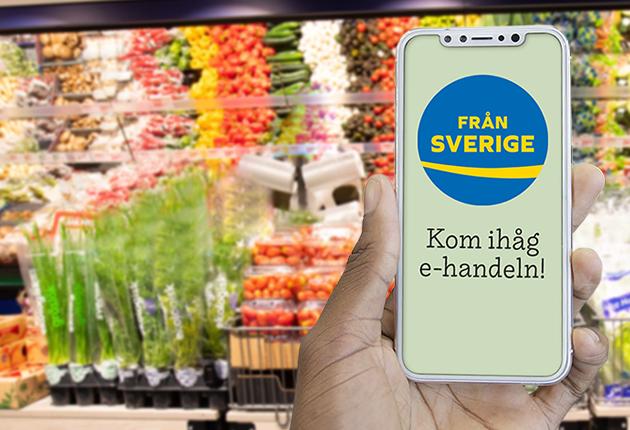 Registrera Från Sverige-märkt i de digitala systemen