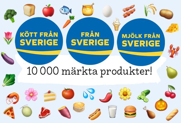 10.000 Från Sverige-märkta produkter — företagslistan!