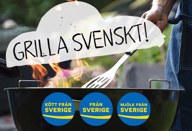 Grilltipsen för dig som vill grilla svenskt!