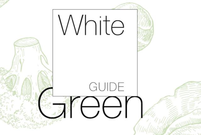 Från Sverige-Priset utdelas vid White Guide Green