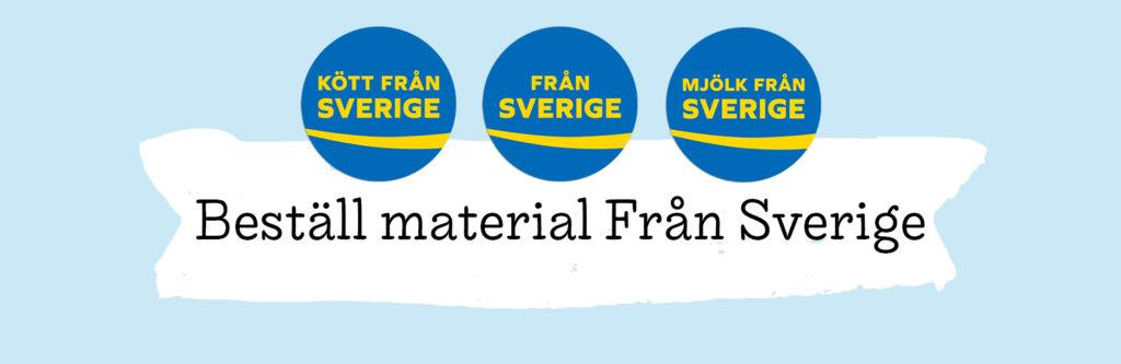Beställ butiksmaterial Från Sverige