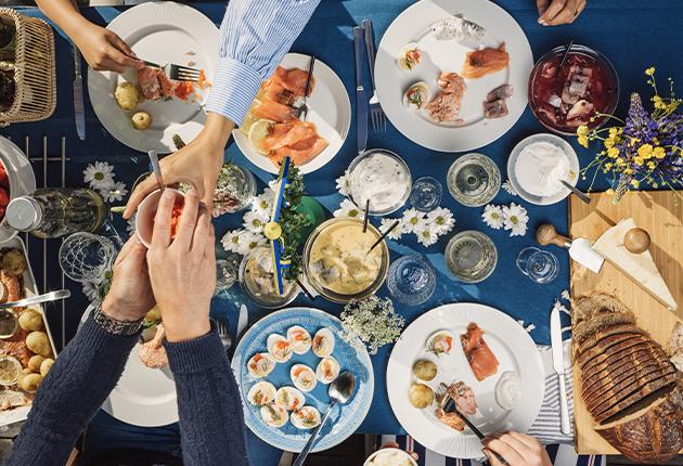 Välj svensk mat, dryck och blommor i midsommar!