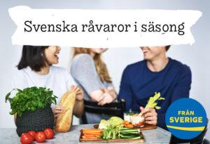 Svenska grönsaker i säsong