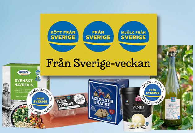 Det gör företagen i butikerna under Från Sverige-veckan!
