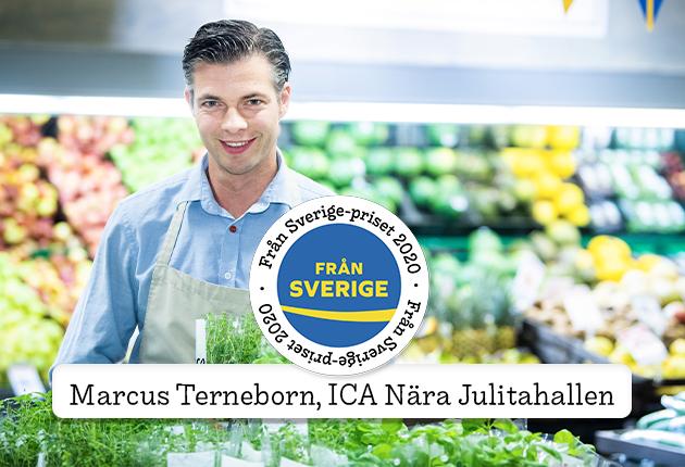 ICA Nära Julitahallen tilldelas Från Sverige-priset!