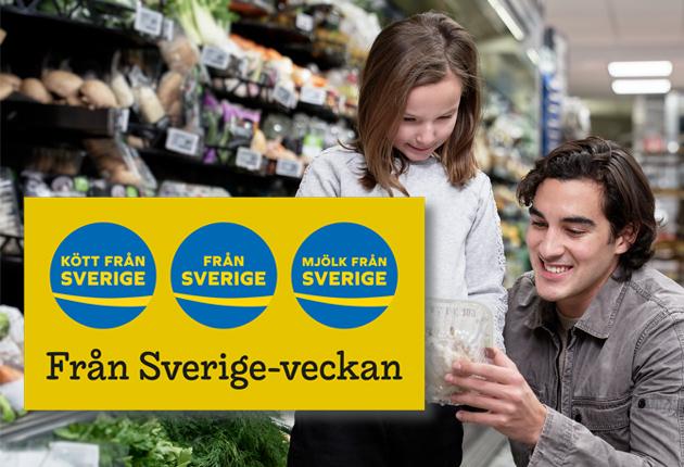 Det här gör butikerna under Från Sverige-veckan!