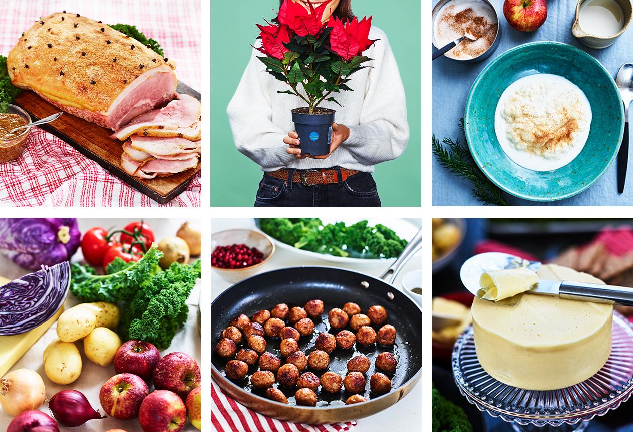 Välj svenskt när du handlar till julbordet