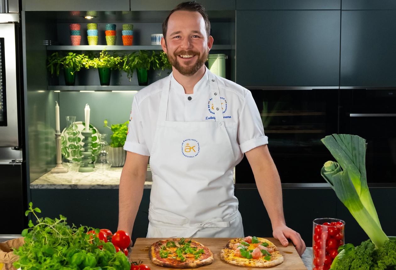 Nyårspizza Från Sverige av Ludwig, Årets Kock