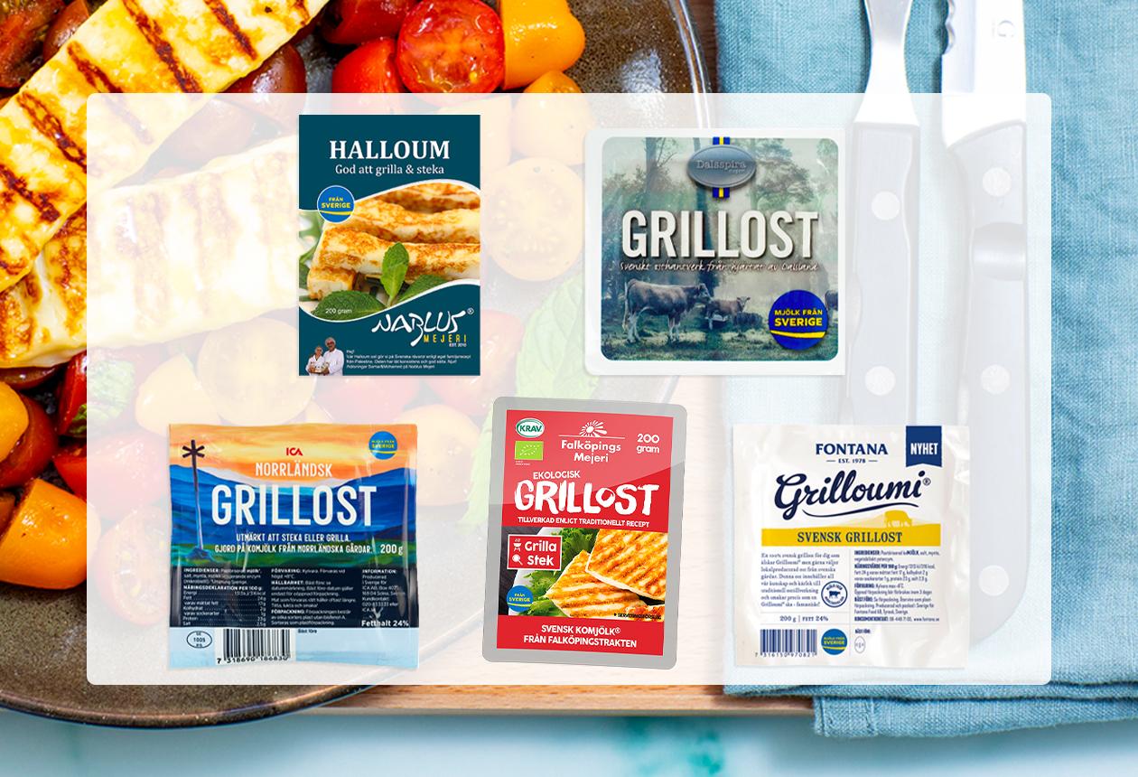 Från Sverige-märkt grillost svensk grillost