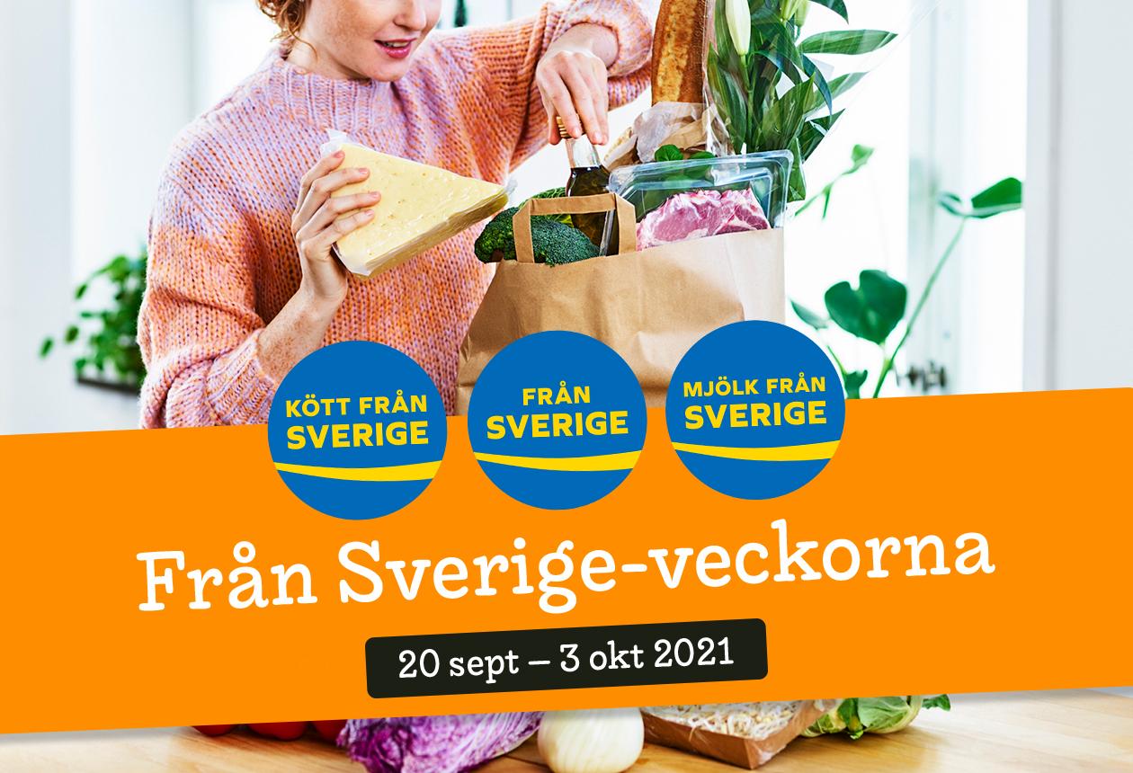 Från Sverige-veckorna 2021 — samlade artiklar!