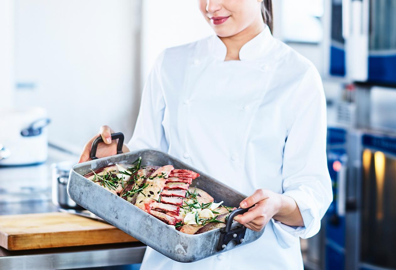 Från Sverige på restaurangen och offentlig måltid