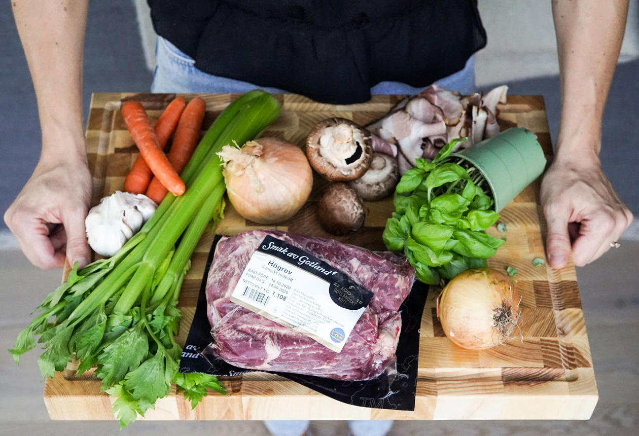 Smak av Gotland – kött från ört- & kalkrika marker