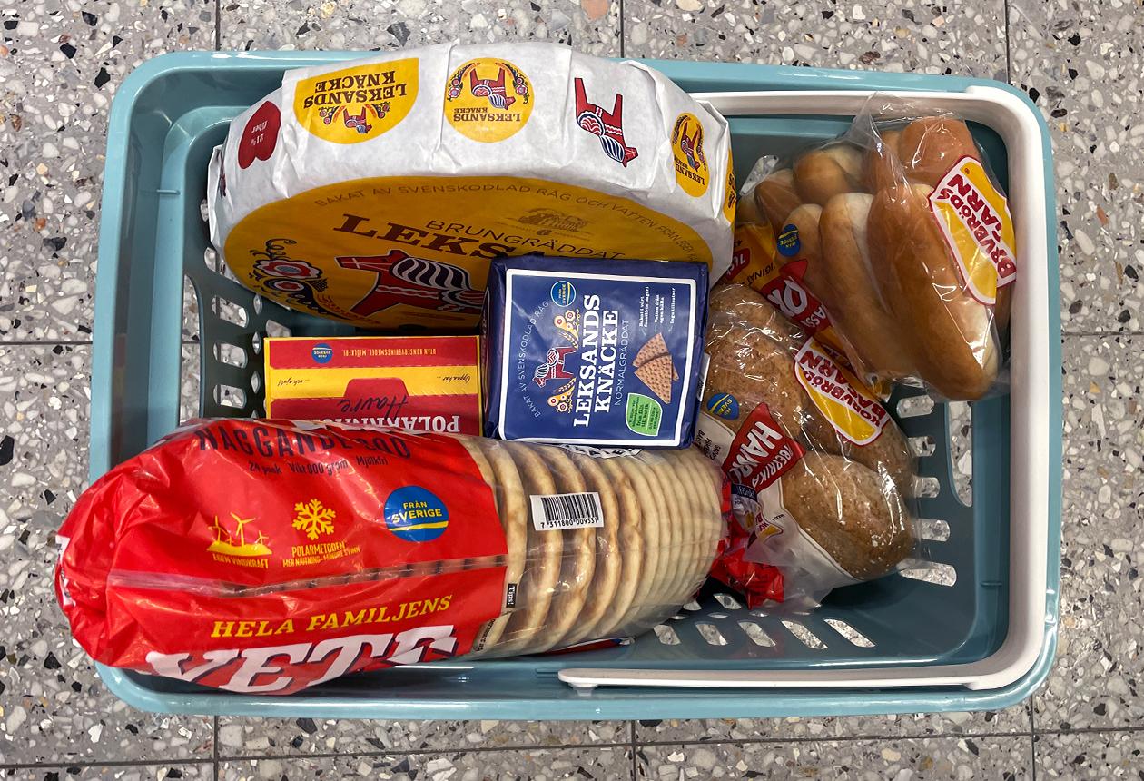 Bröd, mjöl, gryn & granola — Från Sverige-veckorna