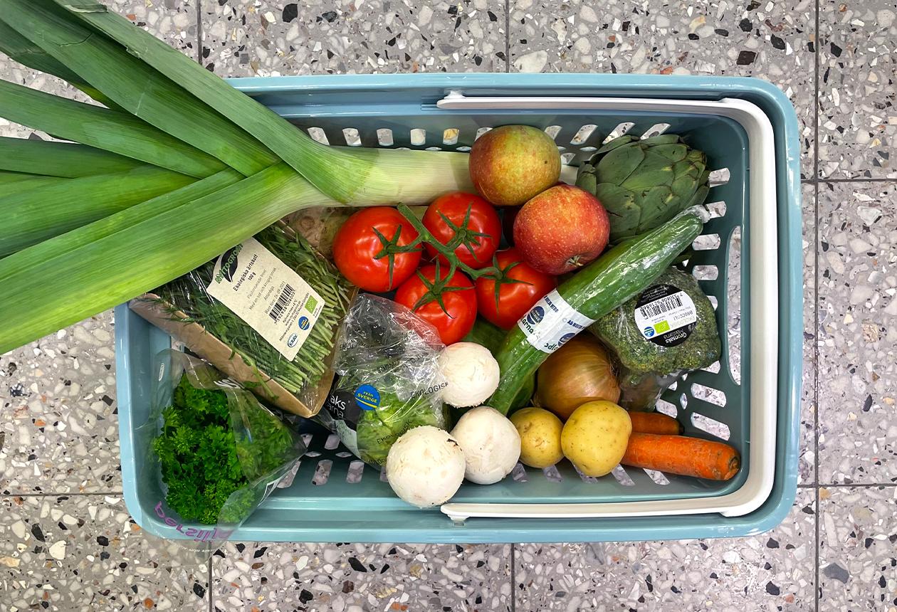 Frukt, grönt & växtbaserat — Från Sverige-veckorna