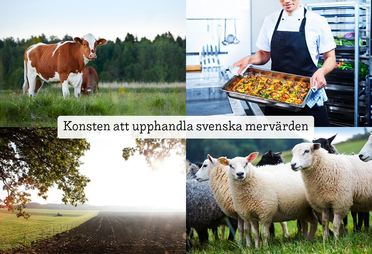 Upphandla livsmedel — Från Sverige som verifikat