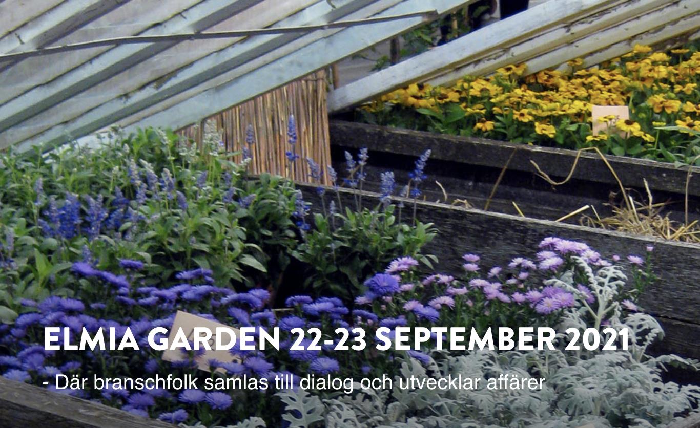Elmia Garden — mässan för trädgårdsbranschen